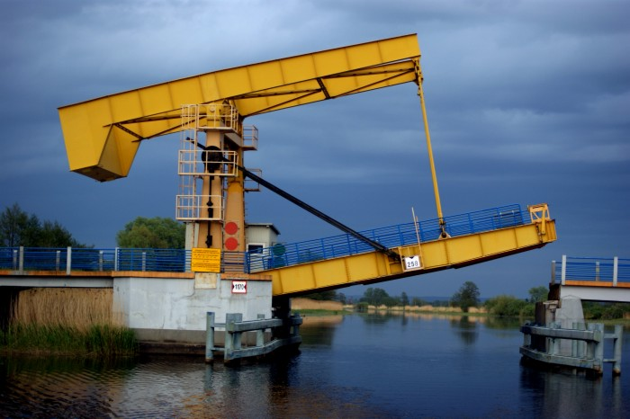 Rybina most zwodzony